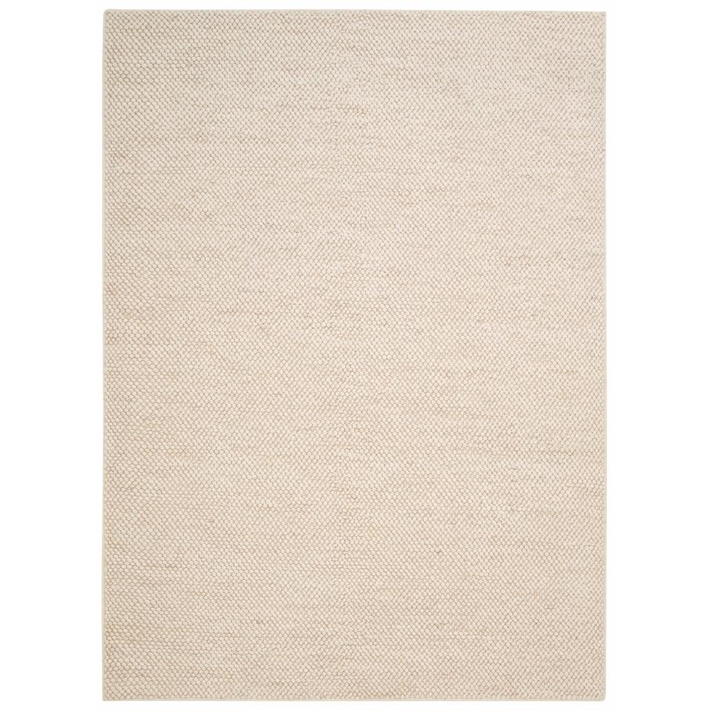 My HOME Wollteppich »Wolly«, rechteckig, 14 mm Höhe, Woll-Optik