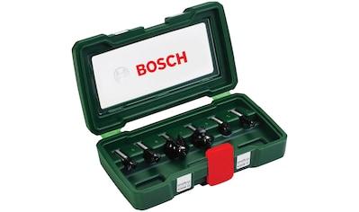 BOSCH Fräser - Set , 6 - tlg., 8 mm Schaft kaufen