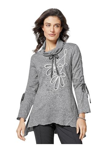 Creation L Langarm - Pullover in flauschig weicher Melange - Qualität kaufen