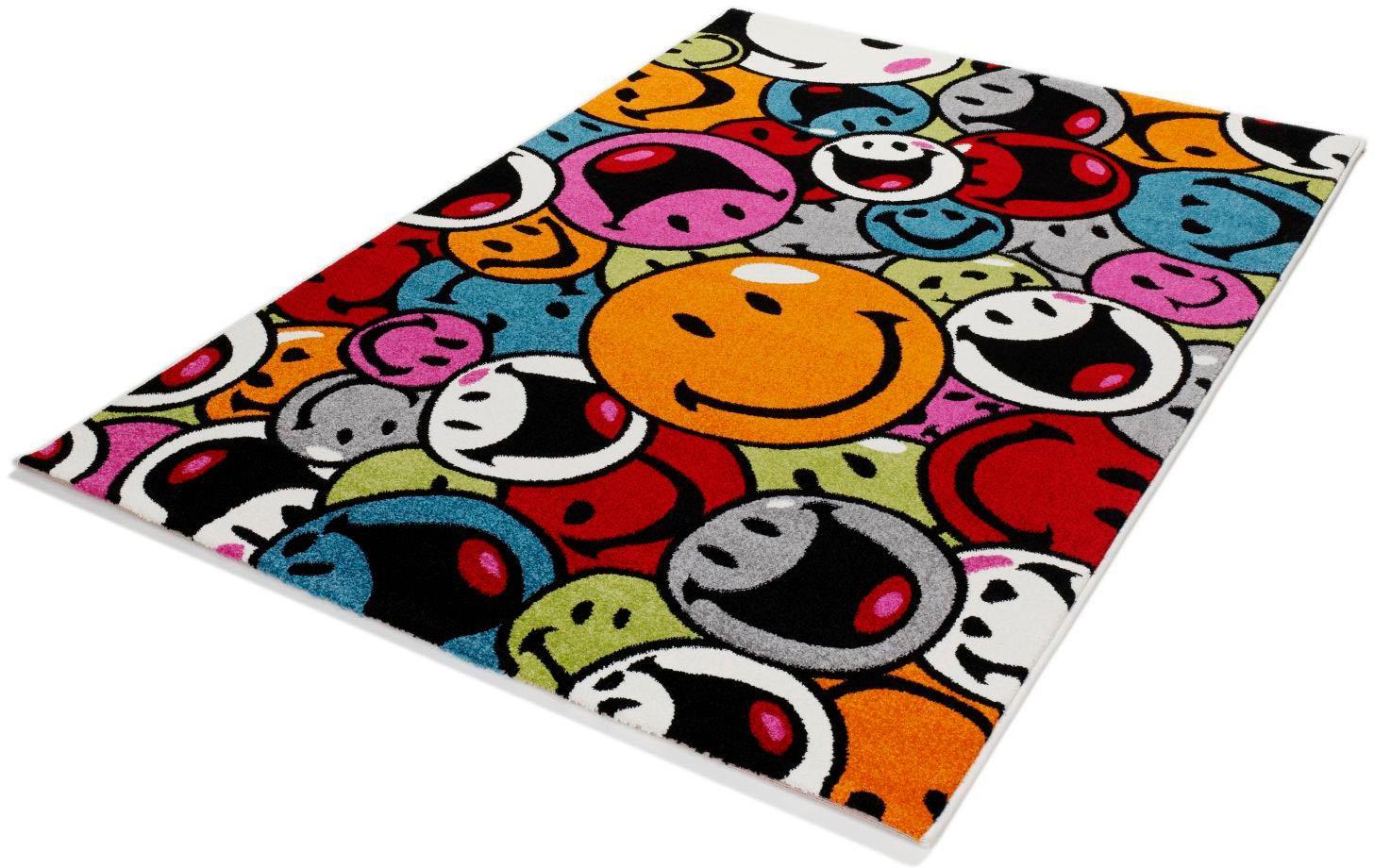 Teppich Happiness Smile OCI DIE TEPPICHMARKE rechteckig Höhe 20 mm maschinell gewebt