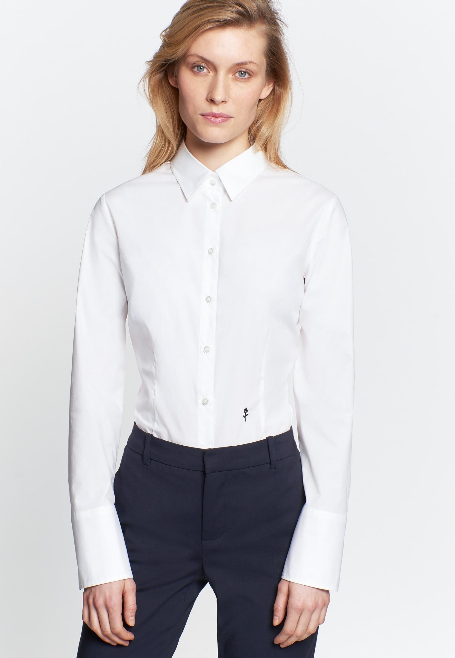seidensticker Klassische Bluse Schwarze Rose | Bekleidung > Blusen > Klassische Blusen | Seidensticker