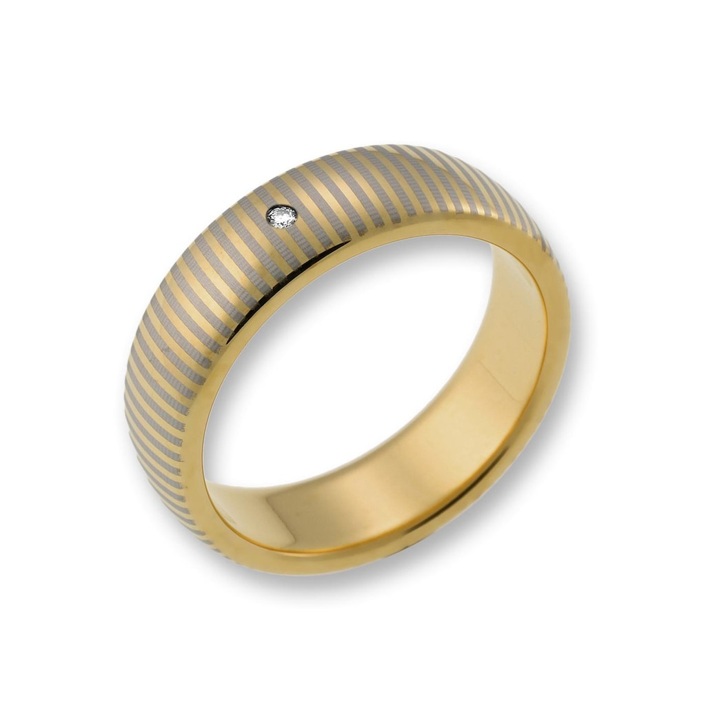 CORE by Schumann Design Trauring »TW003.19/19107116, TW003.20/19107117«, wahlweise mit oder ohne Zirkonia, Made in Germany