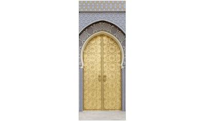 MYSPOTTI Duschrückwand »fresh F1 Ancient Door«, 100 x 255 cm kaufen
