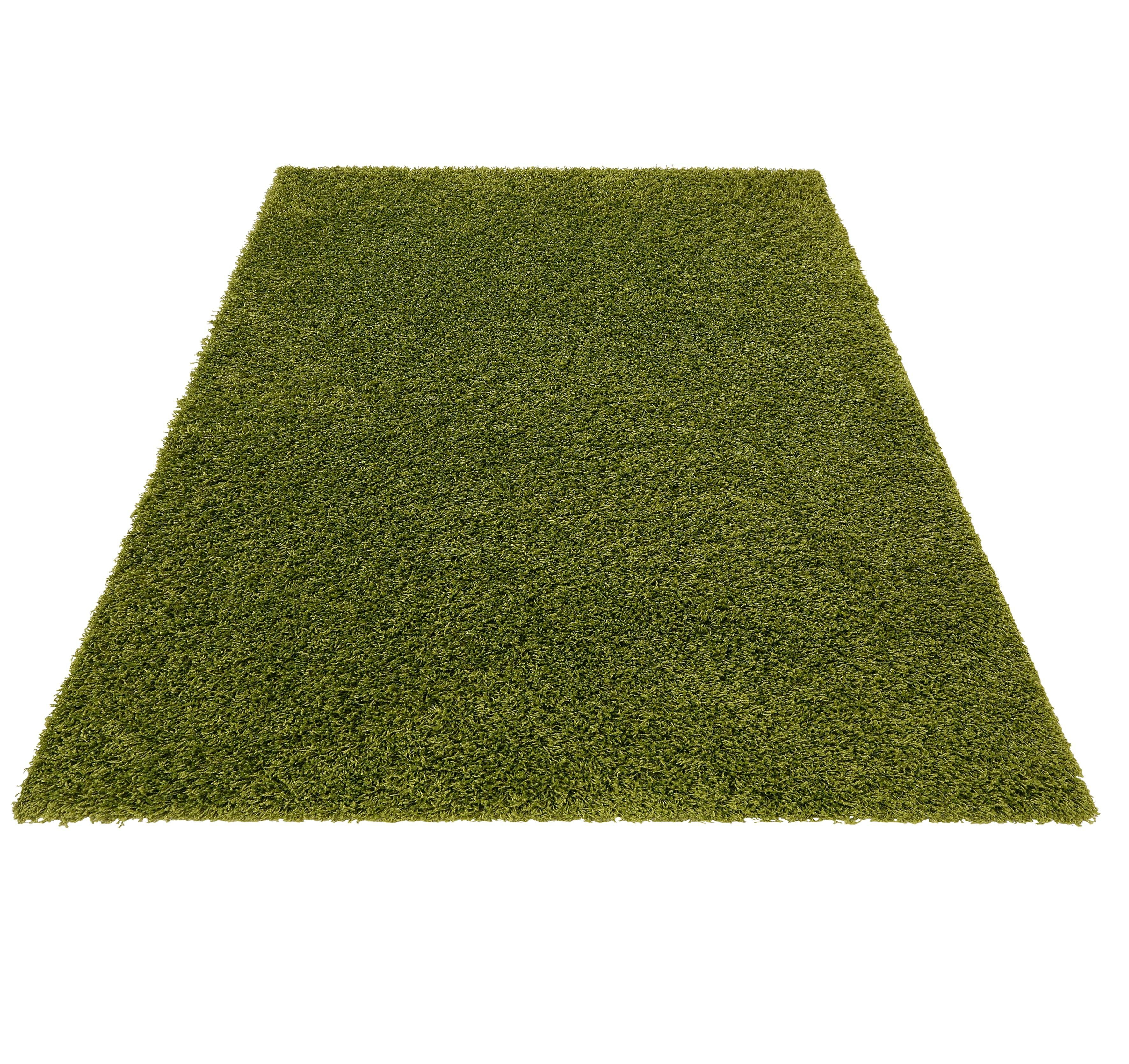 Hochflor-Teppich Shaggy 50 Bruno Banani rechteckig Höhe 50 mm maschinell gewebt