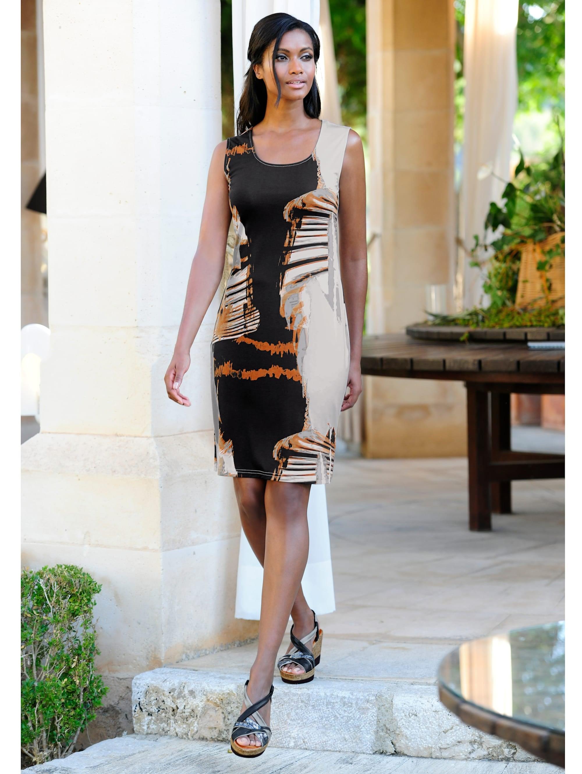 alba moda strandkleid in etuiform