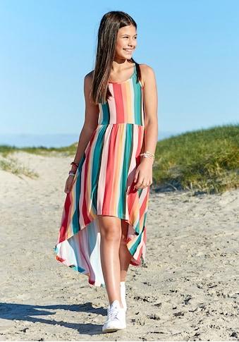 Chiemsee Vokuhila-Kleid, in buntem Streifendesign kaufen