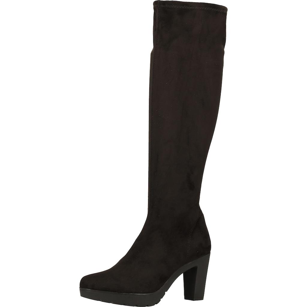 Rapisardi High-Heel-Stiefel »Lederimitat«