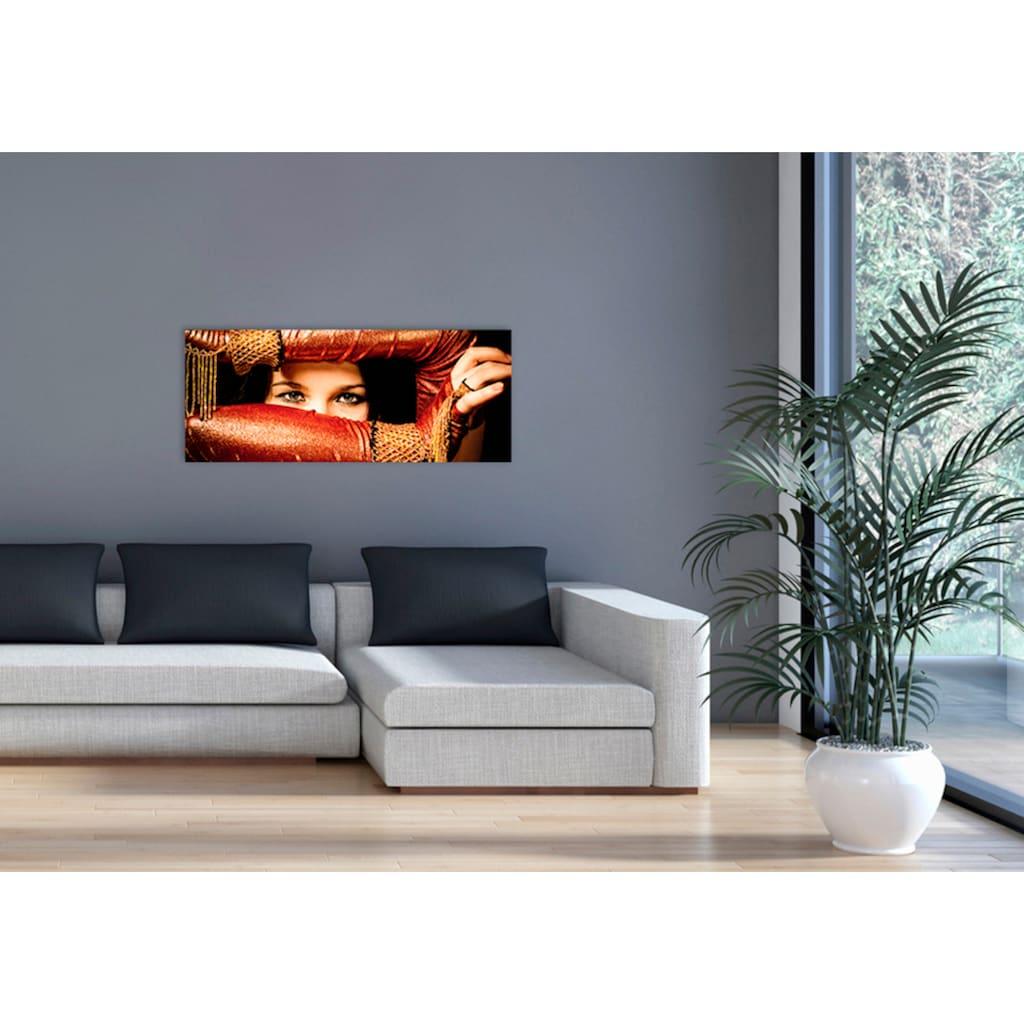 """Marmony Infrarotwandheizung »MOTIV-Heizkörper """"Arabic Eyes"""", 800 Watt«, trocknet Wände und Mauerwerk, aus deutschem Jura-Naturstein"""