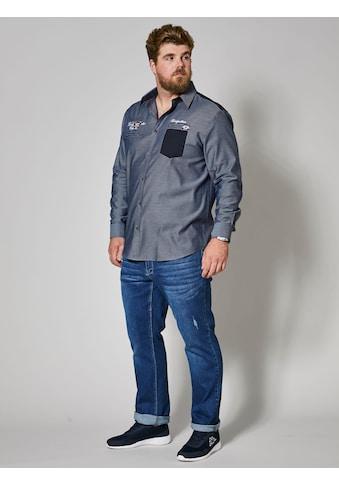 Men Plus by Happy Size Spezialschnitt Hemd aus reiner Baumwolle kaufen