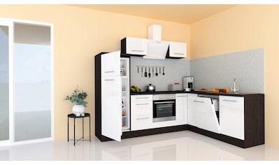 RESPEKTA Winkelküche »RP260«, mit E-Geräten, Breite 260 cm kaufen