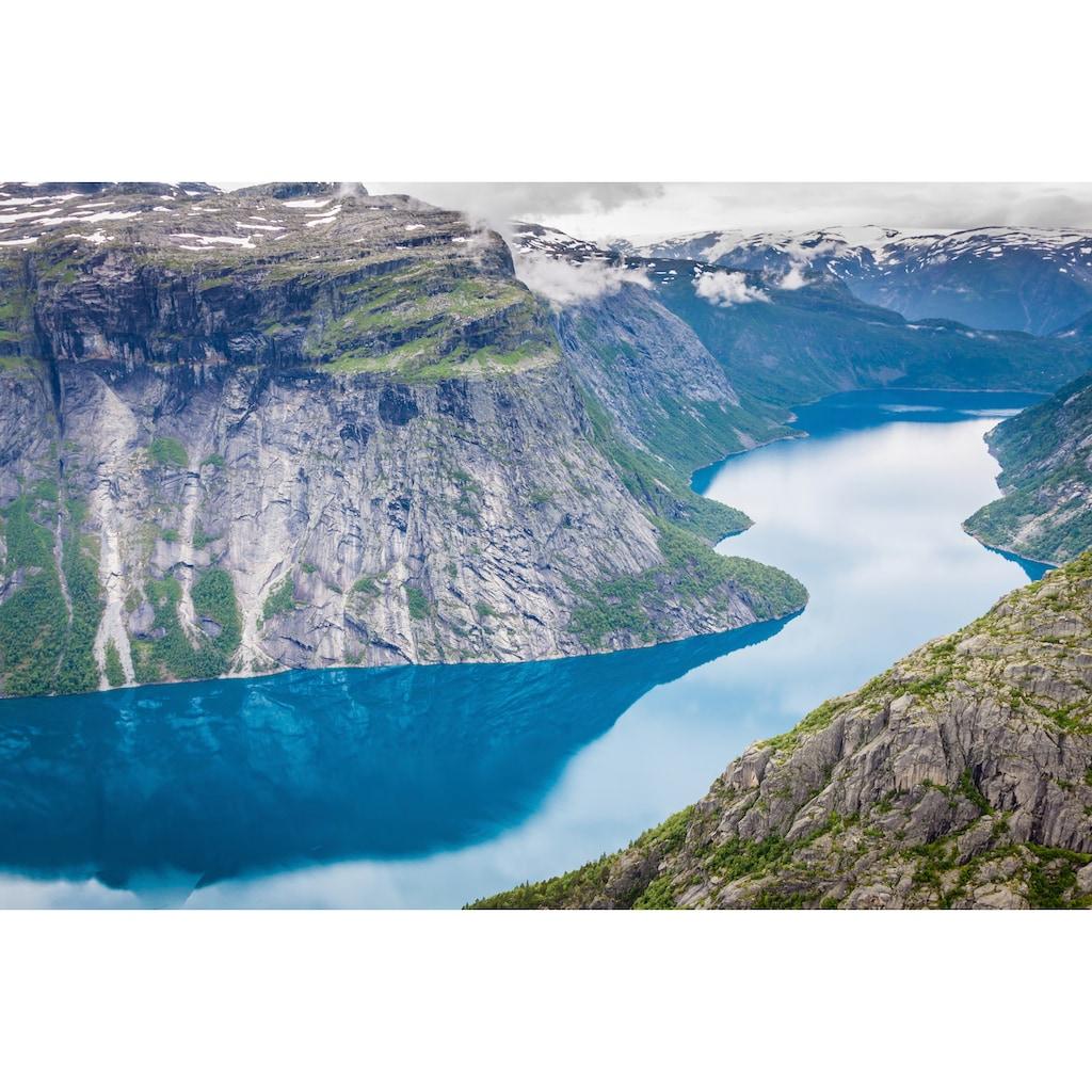 Papermoon Fototapete »Norwegian Fjord«