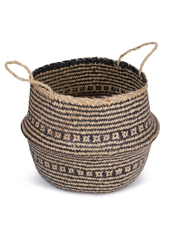 Franz Müller Flechtwaren Dekokorb »Belly Basket«, (1 St.), aus Seegras kaufen