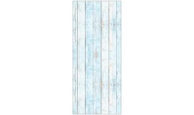 MySpotti Spritzschutz »fresh F2 Wood Light Blue«, 90 x 210 cm kaufen