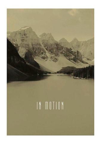 Komar Poster »Word Lake In Motion Sand«, Natur, Höhe: 40cm kaufen