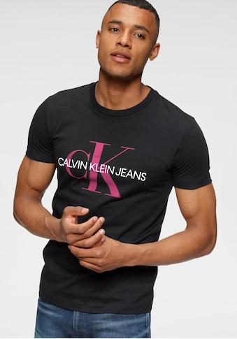 Calvin Klein Jeans T-Shirt »MONOGRAM LOGO SLIM TEE« kaufen