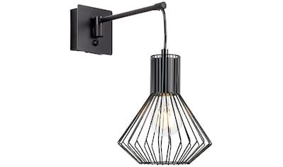 Brilliant Leuchten Dalma Wandleuchte hängend schwenkbar schwarz matt kaufen