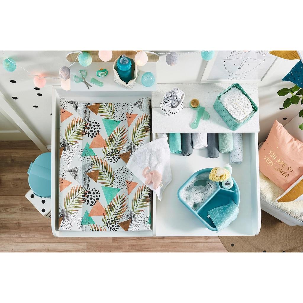 Rotho Babydesign Wickelauflage »Modern Paradise«, Keilform; Made in Europe