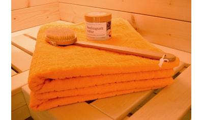 weka Saunatuch »Wellness-Set«, (4 St.), 4-teilig kaufen