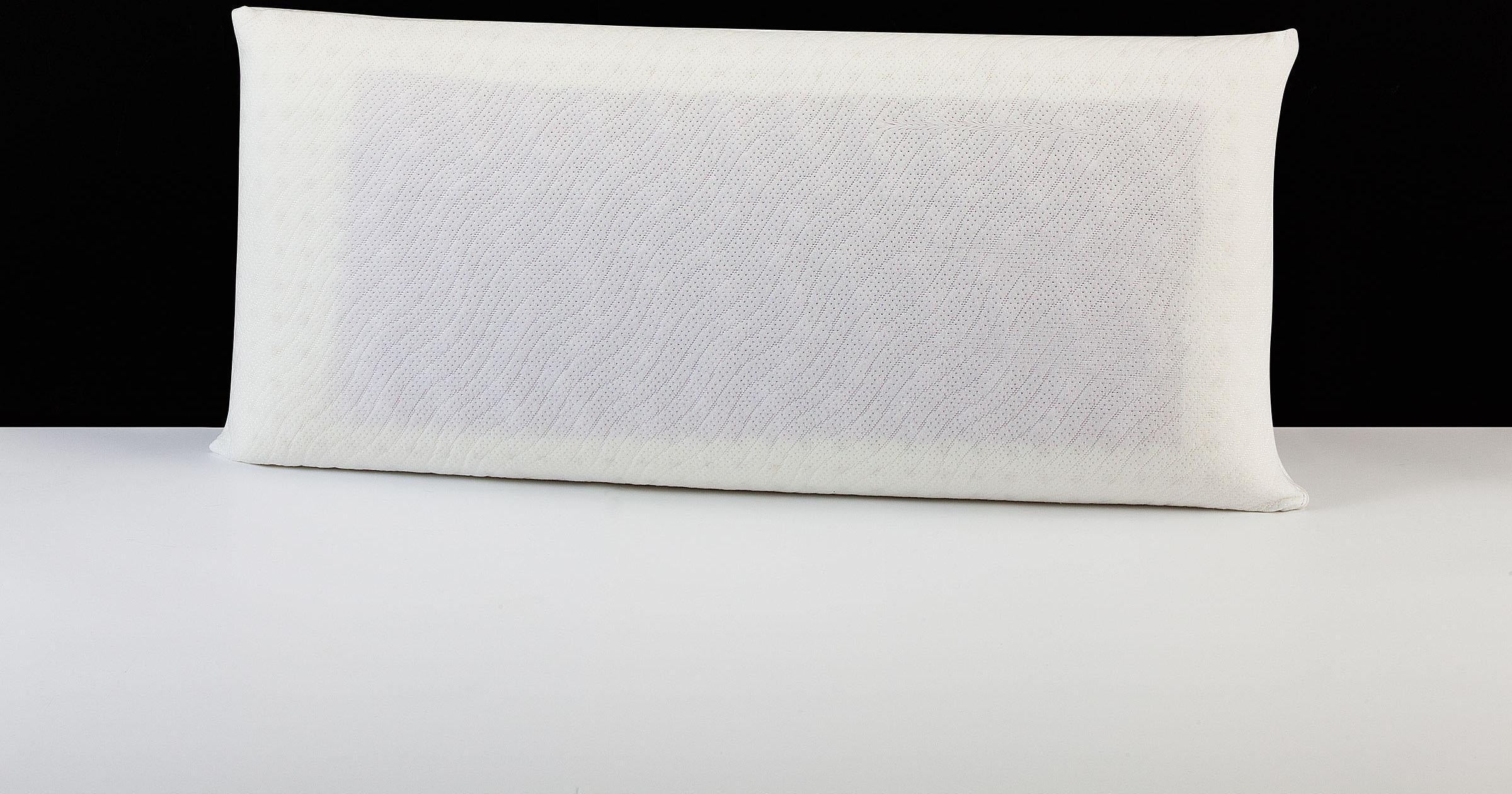 Nackenstützkissen ´´Memory Dream´´ Smartmassage Malve DI QUATTRO Füllung: Viscoschaum und Viscoeinlage mit Malveextrakt Bezug: 100% Baumwolle