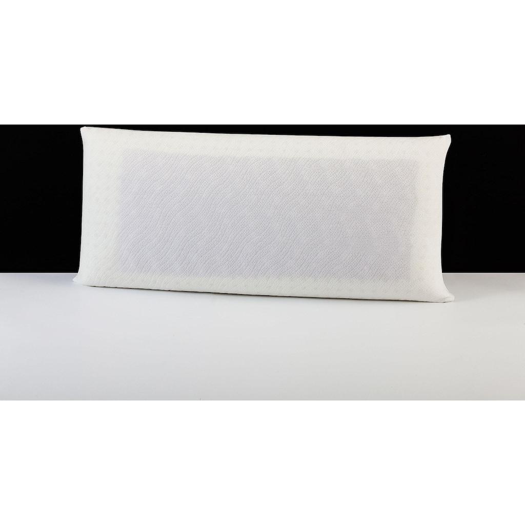"""DI QUATTRO Nackenstützkissen »""""Memory Dream"""" Smartmassage Gel-Malve«, Füllung: Viscoschaum und Viscoeinlage mit Malveextrakt, Bezug: 100% Baumwolle, (1 St.)"""