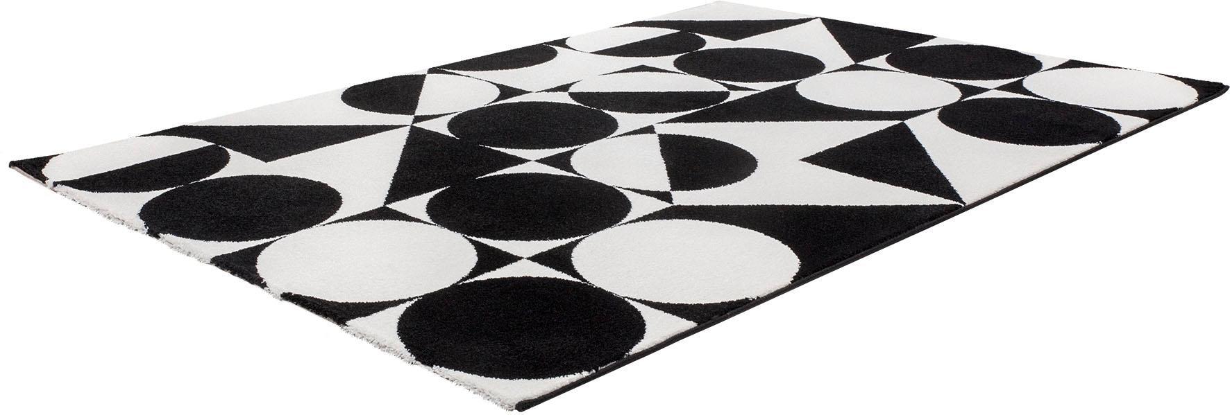Teppich My Black & White 392 Obsession rechteckig Höhe 21 mm maschinell gewebt