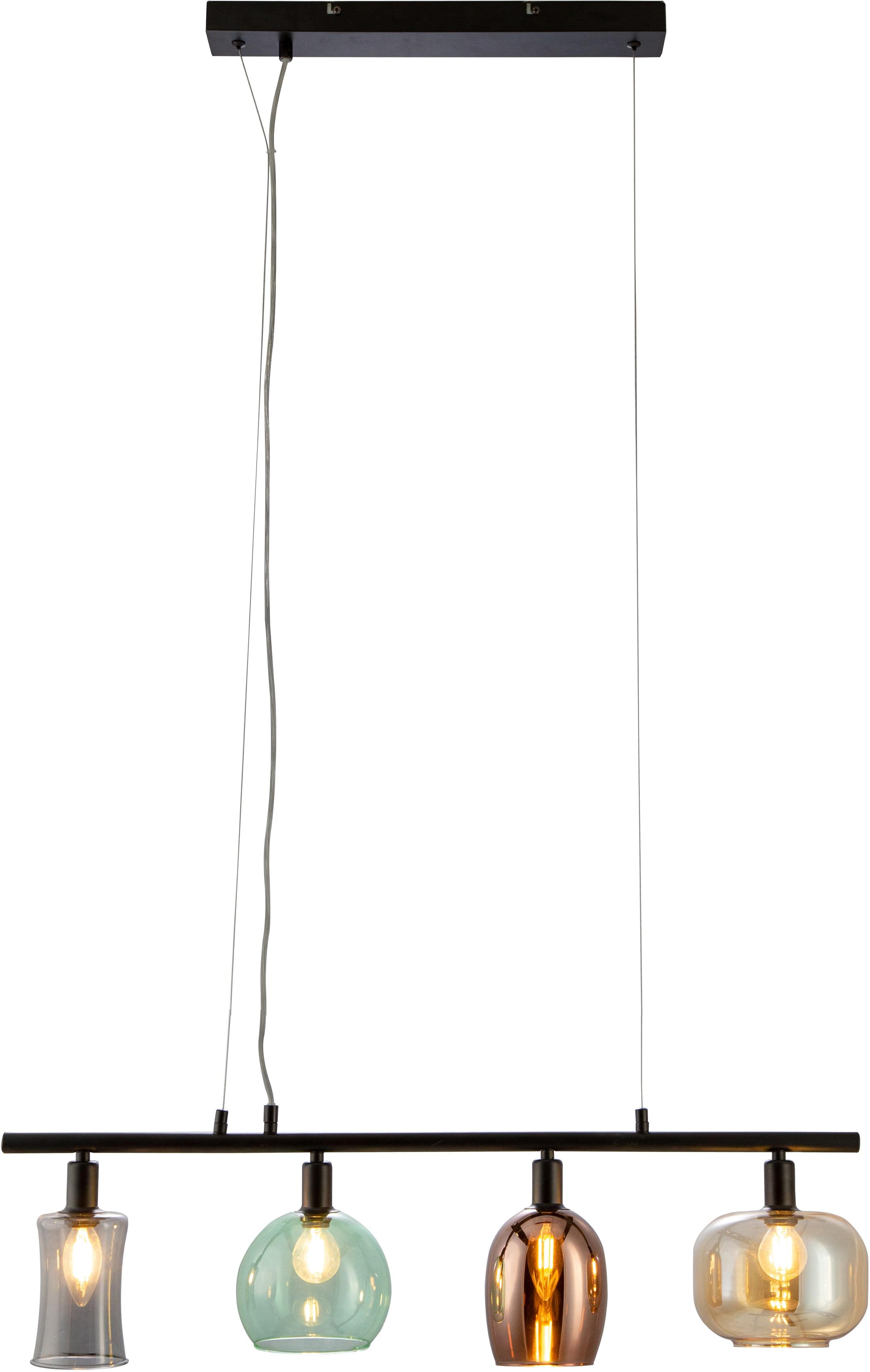 Nino Leuchten Pendelleuchte Telesto, E14, 1 St., Hängeleuchte, Hängelampe