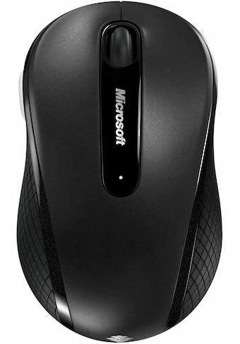 Microsoft »Wireless Mobile 4000« Maus, 2.4 GHz (Funk, 1000 dpi) kaufen
