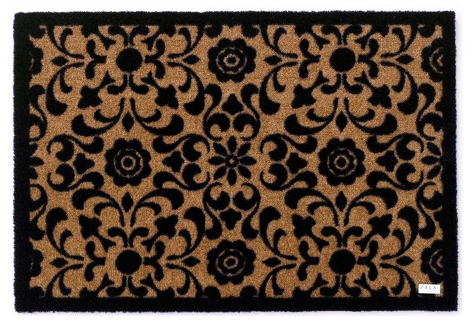 Fußmatte Ornament Zala Living rechteckig Höhe 7 mm maschinell getuftet