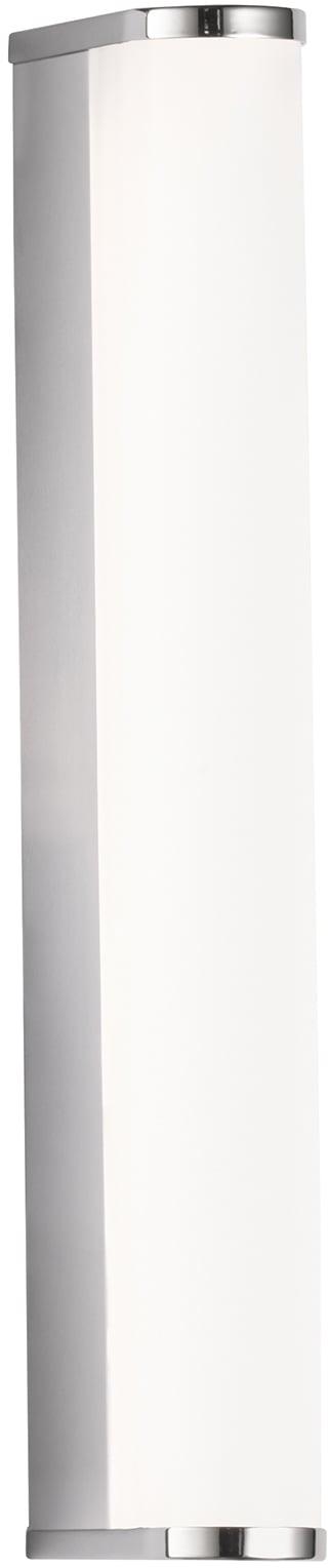 FISCHER & HONSEL LED Wandleuchte Baabe, LED-Modul, Warmweiß