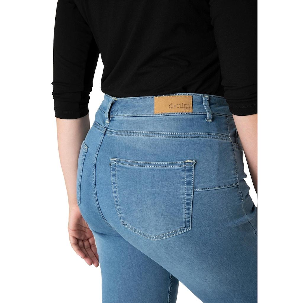DNIM by Yesta Slim-fit-Jeans »Joya«, Slim-Fit mit Push-Up Effekt