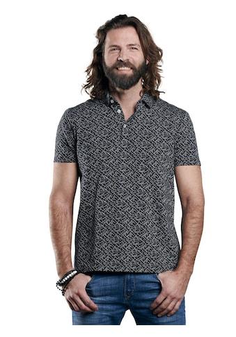 emilio adani Baumwoll-Poloshirt mit Jacquard-Struktur kaufen