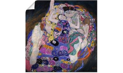 Artland Wandbild »Die Jungfrau. 1913«, Gruppen & Familien, (1 St.), in vielen Größen &... kaufen