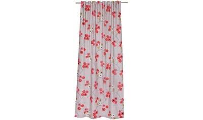 SCHÖNER WOHNEN-Kollektion Vorhang nach Maß »Pretty«, mit Blumenmuster kaufen