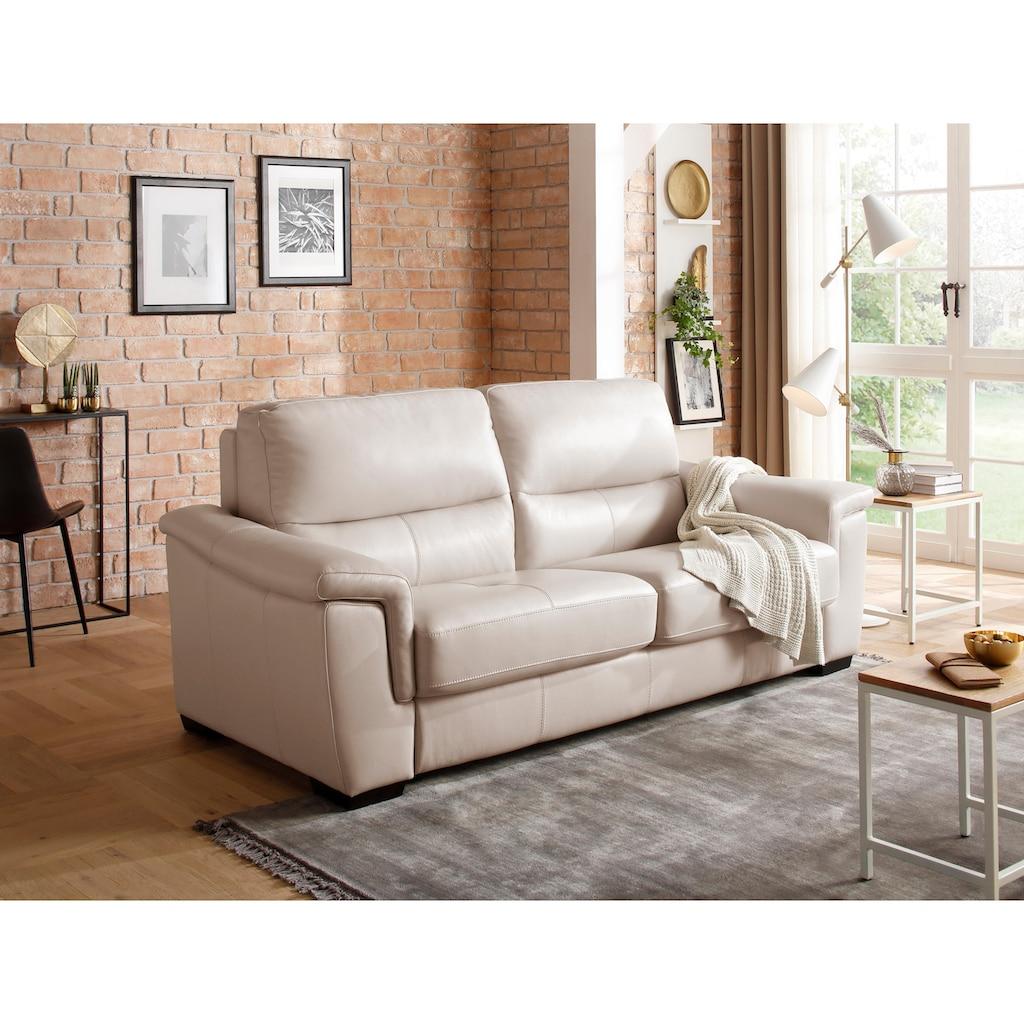 Premium collection by Home affaire Schlafsofa »Amrum«, in zwei Bezugsqualitäten