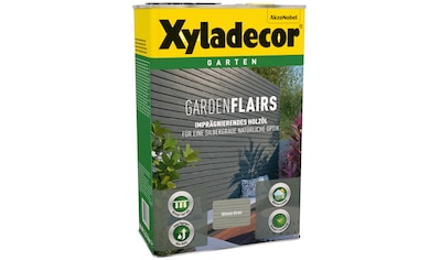 Xyladecor Ölfarbe »Garden Flairs«, für Gartengestaltung, olivengrau, 0,75 l kaufen
