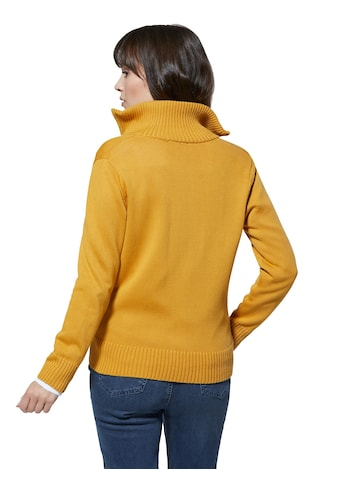 Creation L Pima - Baumwoll - Strickjacke mit Umlegekragen kaufen