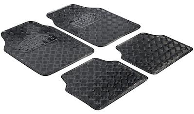 WALSER Universal-Fußmatten »Metallic«, Kombi/PKW, (Set, 4 St.) kaufen
