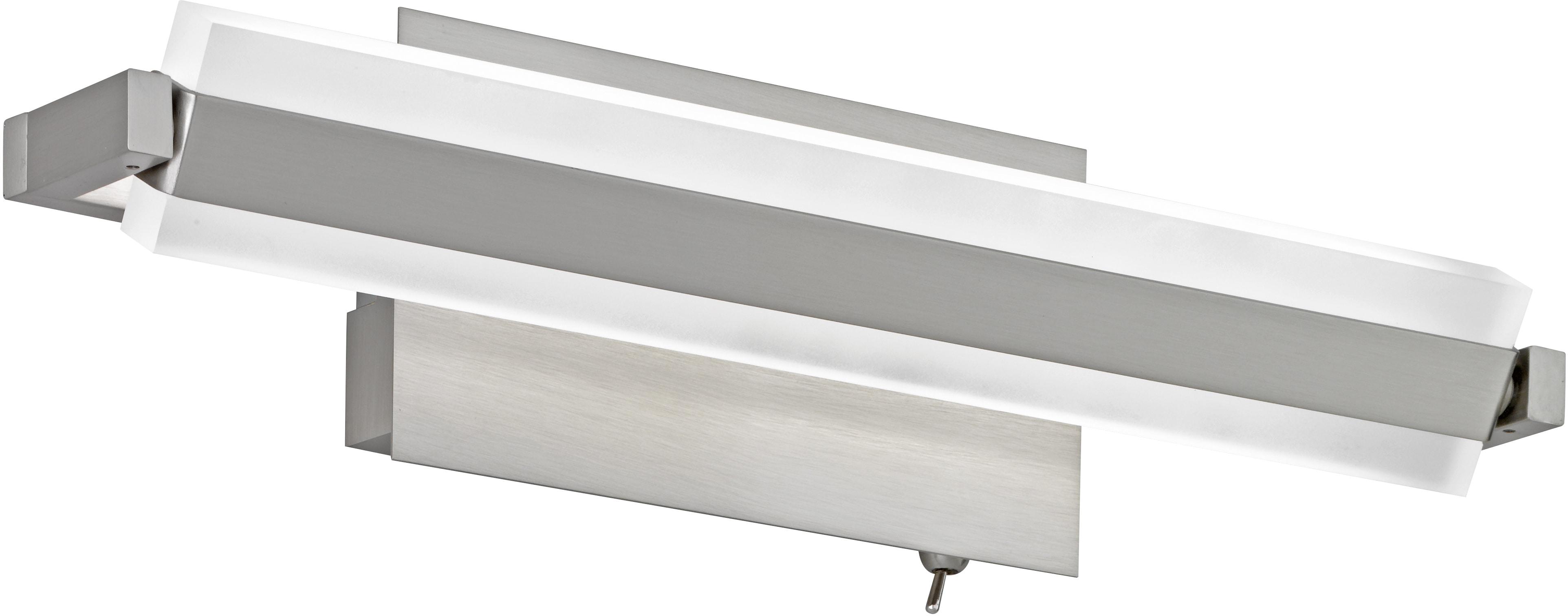 FISCHER & HONSEL LED Wandleuchte Turn, LED-Modul, Warmweiß