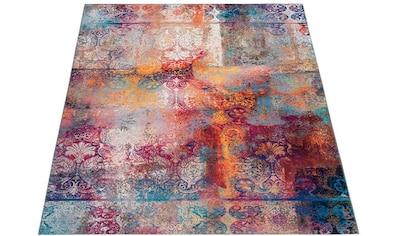 Teppich, »Mateo«, DELAVITA, rechteckig, Höhe 6 mm, maschinell gewebt kaufen