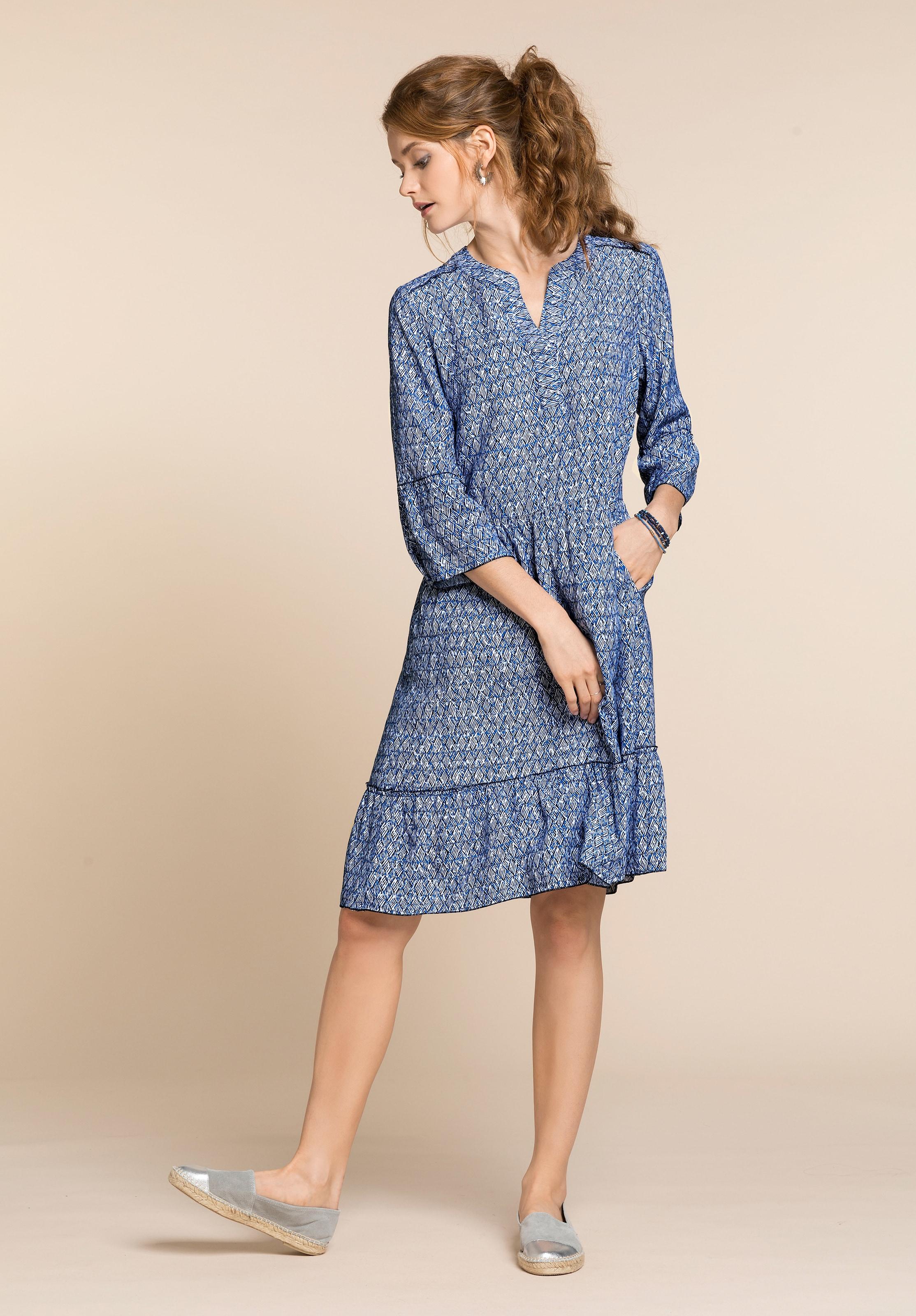 bianca druckkleid dany sommerliches Kleid im Minimal Design AKLBB1166460987