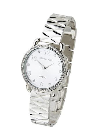 Armbanduhr mit gefassten Glassteinen kaufen