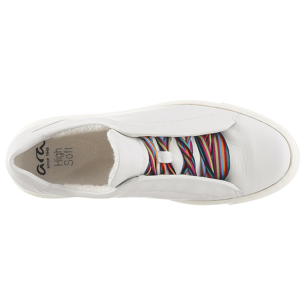 Ara Plateausneaker »COURTYARD«, in komfortabler Schuhweite H (=weit)