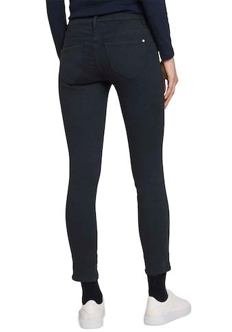 TOM TAILOR Stoffhose »Alexa Skinny«, im 5-Pocket-Stil mit Zipper am Bein kaufen