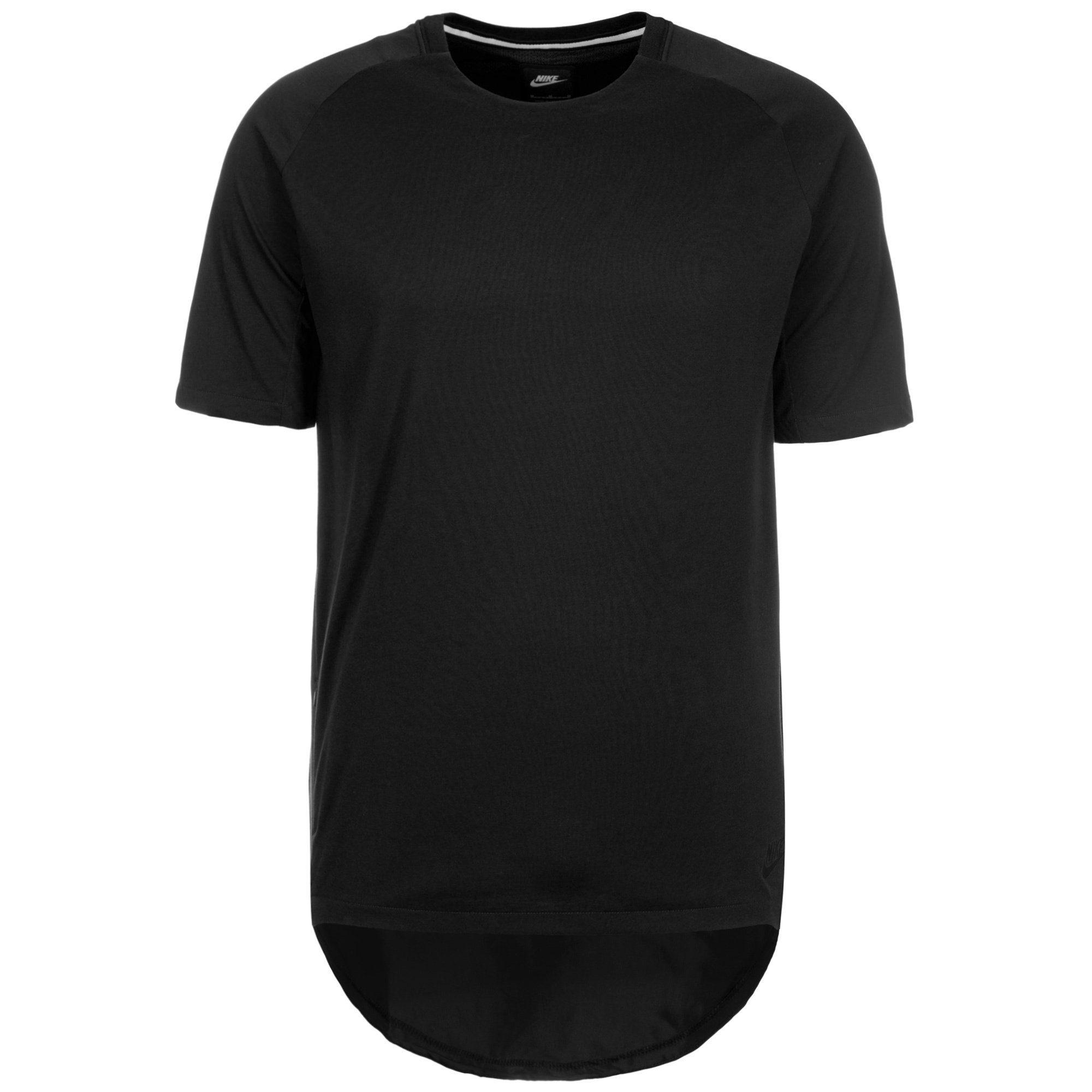 Nike Sportswear T-Shirt Bonded | Sportbekleidung > Sportshirts > T-Shirts | Schwarz | Nike Sportswear