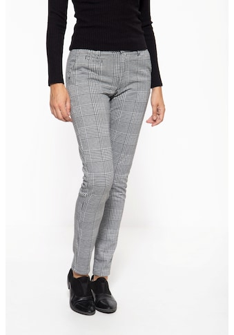 ATT Jeans Stretch-Hose »Sophie«, mit markantem Karomuster kaufen