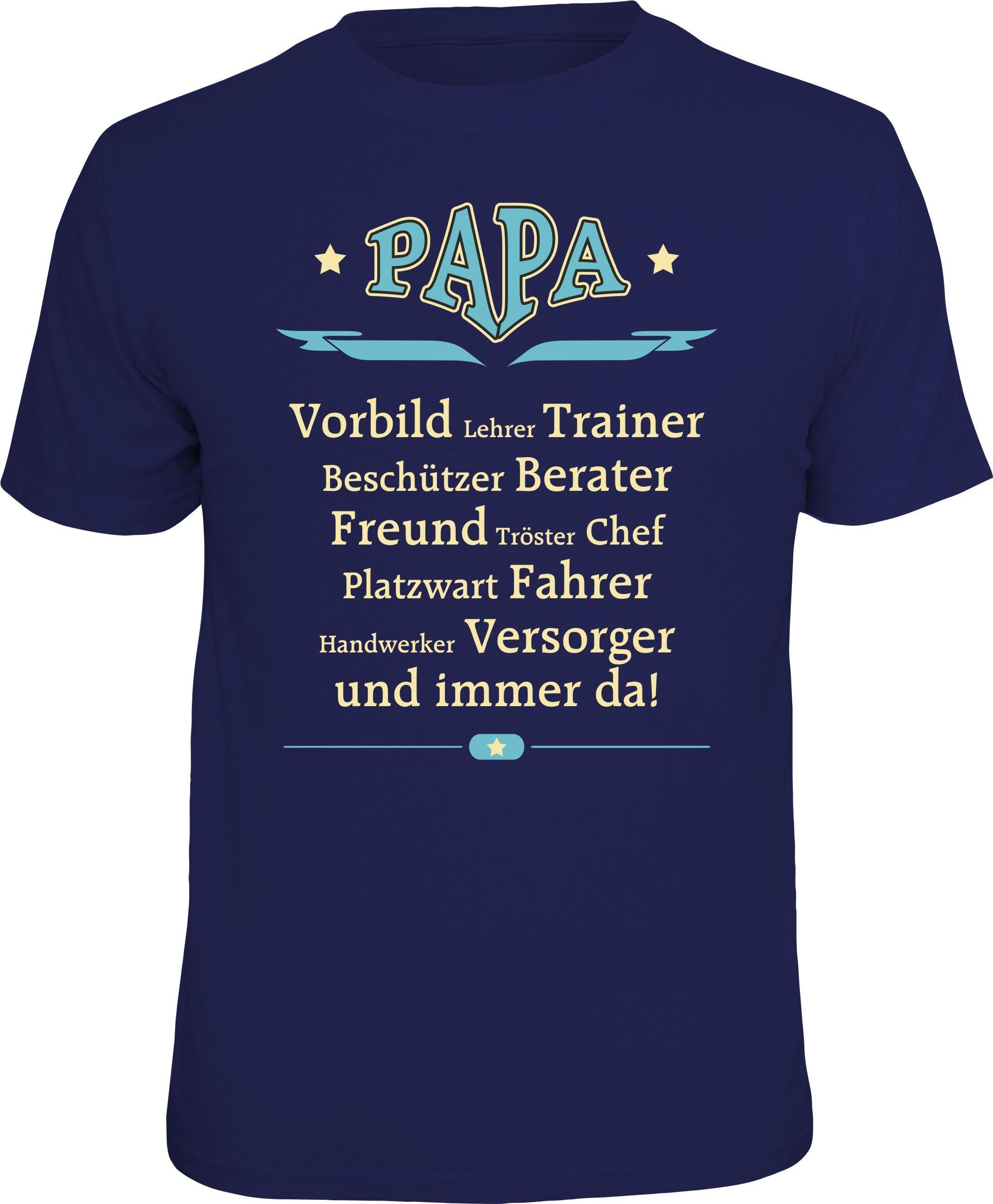 Rahmenlos T-Shirt »Papa Vorbild, Lehrer, Traine...