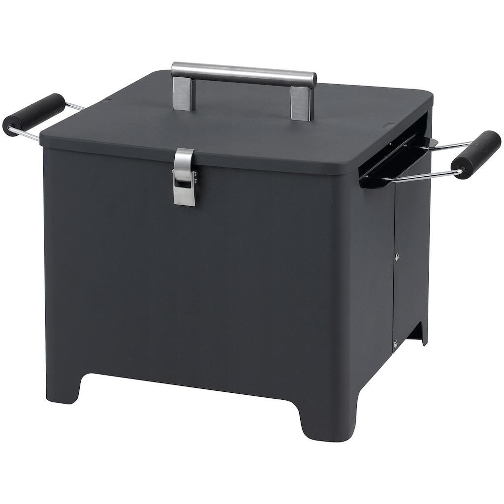 Tepro Holzkohlegrill »Chill&Grill Cube«, BxTxH: 54x36x35 cm
