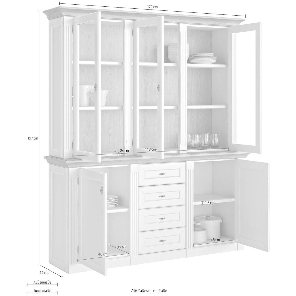 WEHRSDORFER Anrichte »Maisonette«, mit 5 Türen und 4 Schubkästen, Breite 172 cm