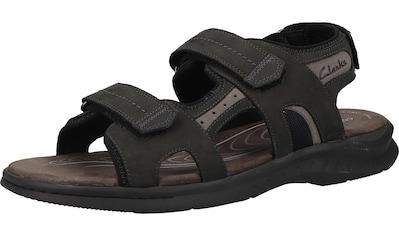 Clarks Sandale »Nubukleder« kaufen