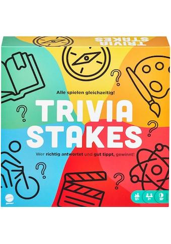 Mattel games Spiel »Trivia Stakes« kaufen